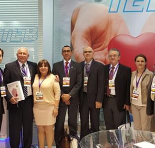 Equipe TEB e DECA juntamente com o Dr. Celso Salgado, a Dra. Stela Sampaio, Dr. Silas Galvão, Dr. Braulio Pinna e Dr. Luiz Rangel.
