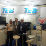 Equipe TEB no evento do DECA.