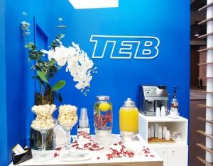 O tradicional capuccino oferecido no buffet da TEB foi mais uma vez elogiado.