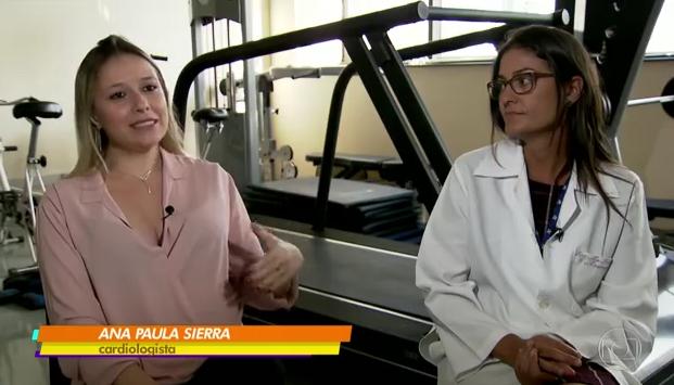 As idealizadoras do projeto, Dras. Ana Paula Sierra e Maria Fernanda.