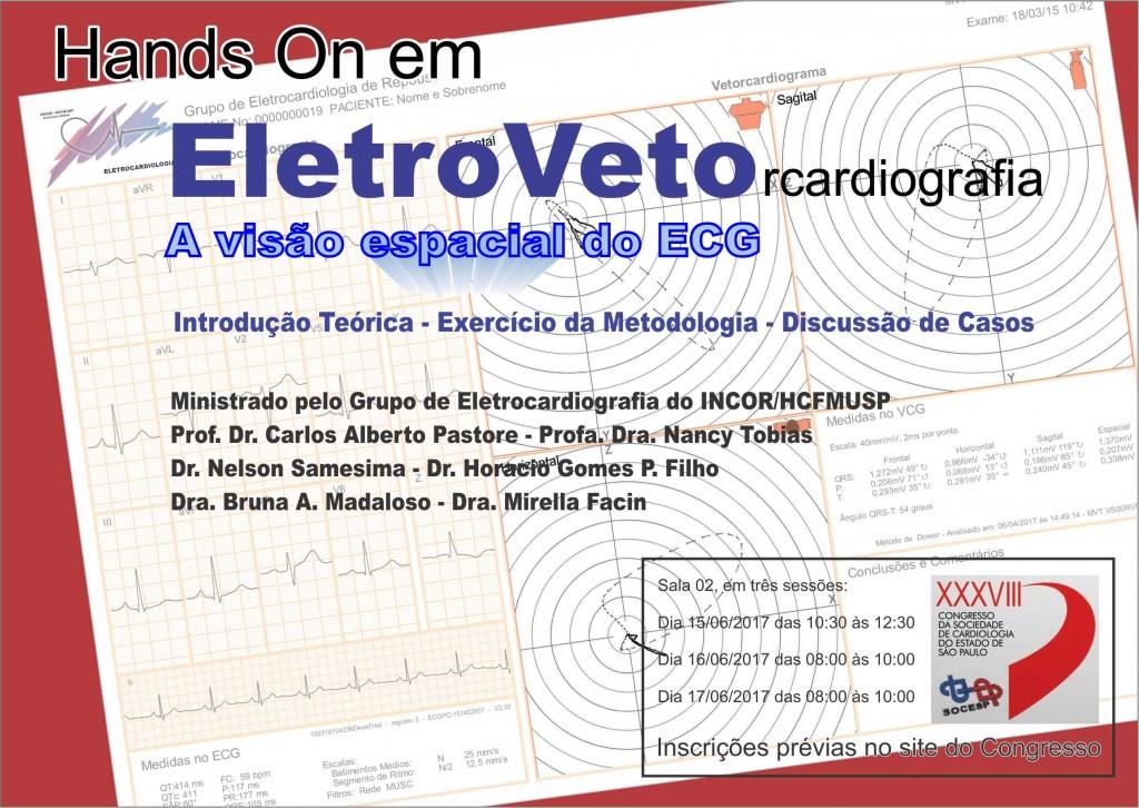 Oficina Hands On Veto / Eltrocardiograma (SOCESP 2017)